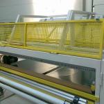 pracoviště pro řezání textilie